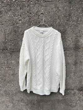 jumper knitted white