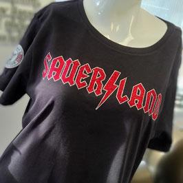 Sauer/land Glitzer Rock Shirt