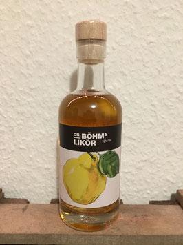 Dr. BÖHM - Quittenliqör
