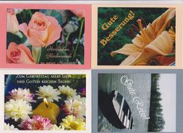 4 verschiedene Foto-Faltkarten: ANLÄSSE 4