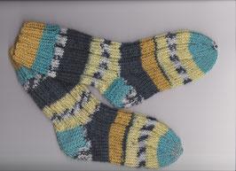 "Handgestrickte Kinder-Socken ""Biene Maja"""