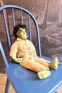 Vintage hulk pop met kermiek delen     19.877.O
