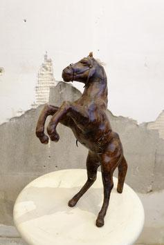 Oud leren paard  |  18.683.O