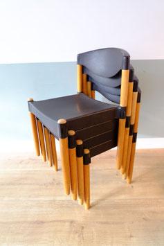 Vintage stapelstoelen  |  19.1140.M