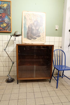 Vintage vitrine kast  |  19.935