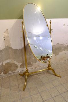 Pas spiegel vrijstaand goud  |  19.1026.M