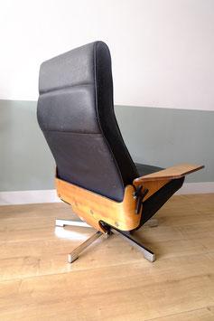 Vintage leren fauteuil  |  19.1119.M