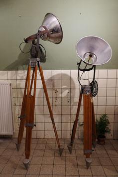 Oude statief lampen  |  18.812.L