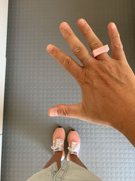 Ring giethars BABY PINK
