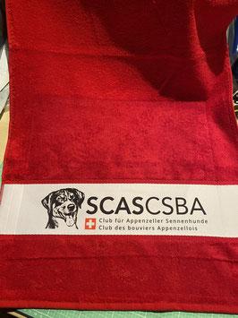 Frottee-Handtuch mit SCAS Clublogo