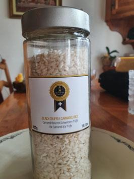 Carnaroli Reis mit Schwarzen Trüffel
