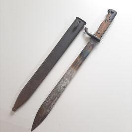 SG 98/05 n.A Seitengewehr Kammerstück mit Scheide, Mauser