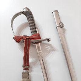 M1899 Kavallerie Offizier Degen, Schweiz, Galastück mit Portepee, Sehr leichte Ausführung, geätzte Klinge