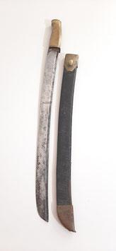 Kurzes Seitengewehr aptiert aus Infanterie Säbel, datiert 1782