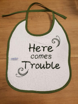 Slabbetje | Here comes trouble
