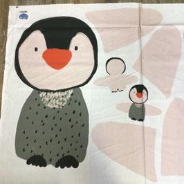 BW-Panel Spieldecke Pinguin lillestoff