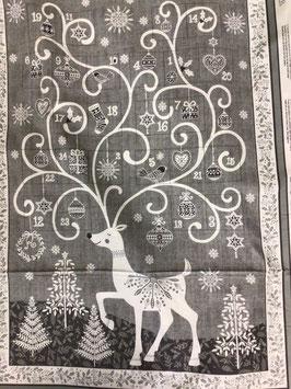 PW-Panel Kalender grau-creme