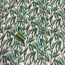 Patchwork Bambus natur-grün