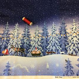 PW- Bordürenstoff Weihnachten