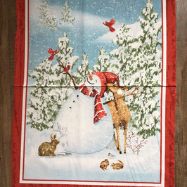 PW-Panel Sheltering Snowman