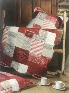 Tagesdecke, Bettüberwurf in 2 Farben und Grössen