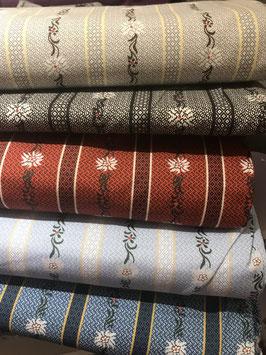 Klassischer Edelweiss Hemden Stoff