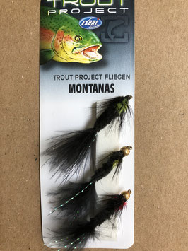 Trout Project Fliegen Montanas