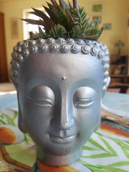 Buddha - Blumenübertopf - unbepflanzt