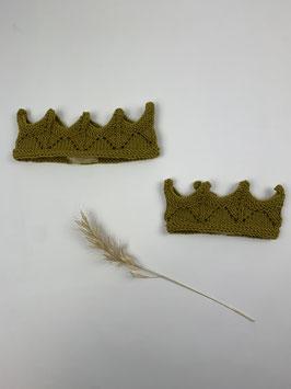 Kronenstirnband Ocker