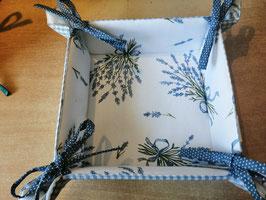 """Brotkörbchen """"Lavendel"""" aus Baumwolle"""