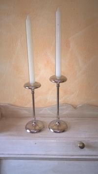 Kerzenleuchter Edelstahl (hier im Bild die kleine Variante)