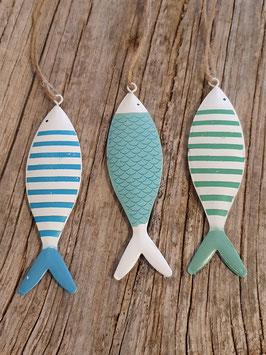 Deko Anhänger  Fische Blau