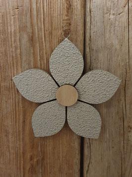 Blüten Anhänger Holz
