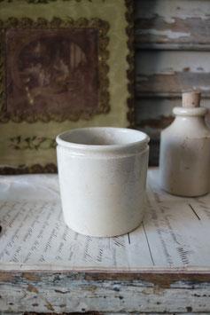 Shabby: Alter Keramik Topf aus Frankreich 1900