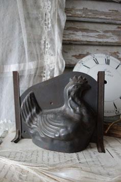 Große alte Schokoladenform Henne aus Frankreich