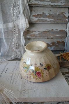 Shabby: Sehr alte Keramik Bol mit viel Patina Frankeich