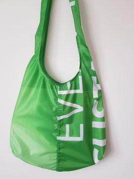 """Beutel lang grün weiß """"Eve"""""""
