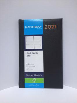Week Agenda 2021 Blauw