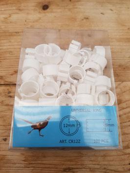 Clips Ringe für Hühner 12mm