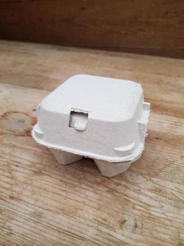 Hühnereier-Schachtel 4er Karton