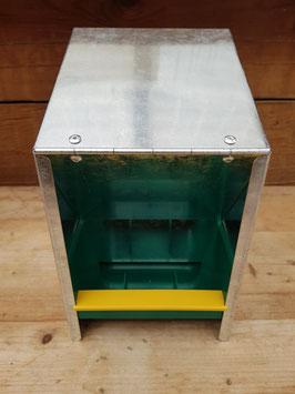 Futterautomat 2,5kg verzinkt
