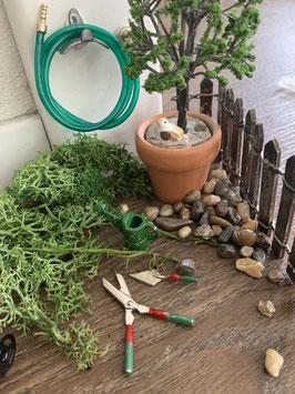 Wichtel Zubehör kleines Garten Set