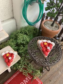 Wichtel Zubehör Erdbeer Torte