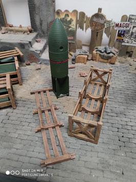 SC250 Bombe mit Transport Kiste