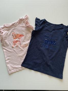 Doppelpack T-Shirt (Pocopiano) Gr. 152