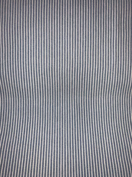 Baumwoll-Jersey Jeansoptik hellblau-weiss gestreift