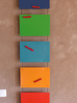 "Magnettafel ""Colourful"" Klein"