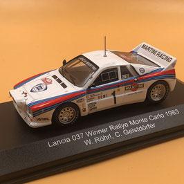 Lancia 037 - W.Rohrl - Montecarlo Rally (1983)