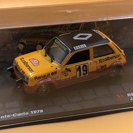 Renault 5 Alpine Gr.2 - J.Ragnotti - Montecarlo Rally (1978)