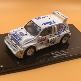 MG Metro 6R4 - H.Toivonen - RAC Rally (1986)
